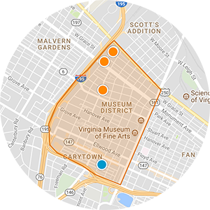 Museum District Real Estate Map Search