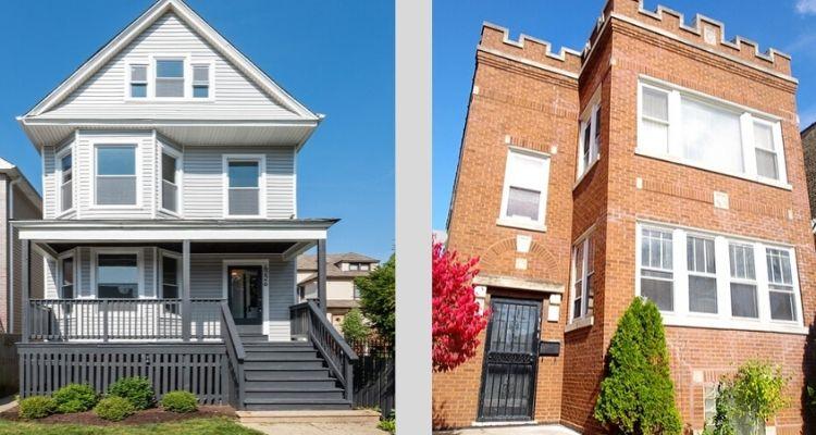 2 flats brick vs frame