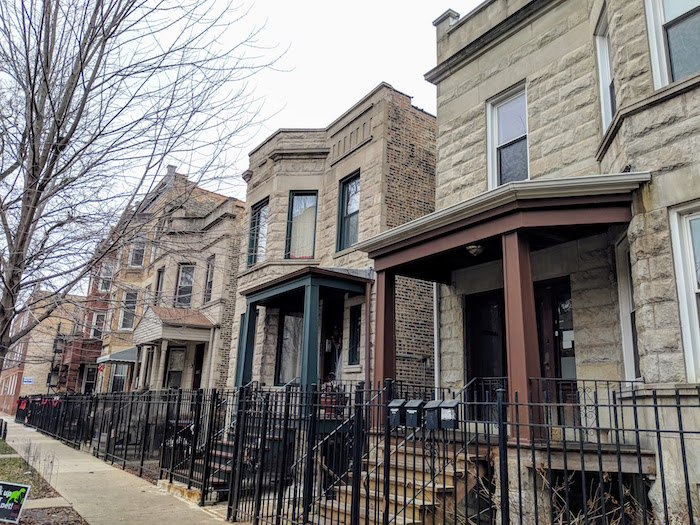 chicago brick 2 flats for sale