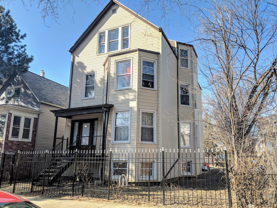 Logan square 3-flat for sale