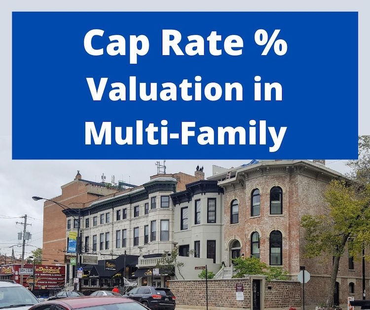 cap rate valuation in multi-family real estate