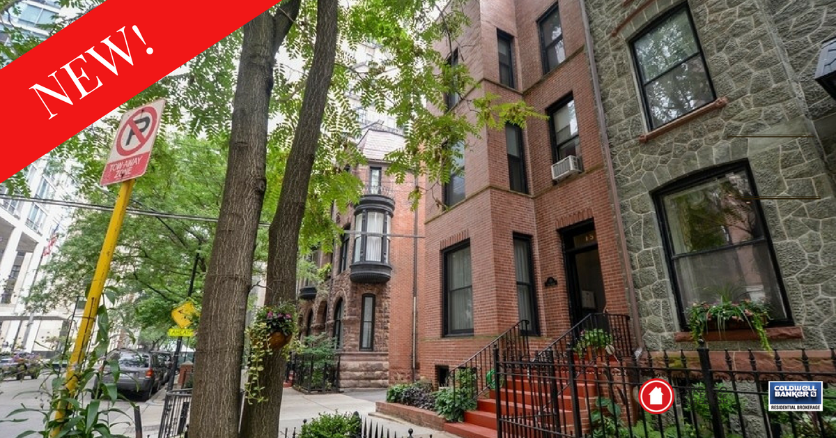 Chicago Gold Coast 3-flat For Sale
