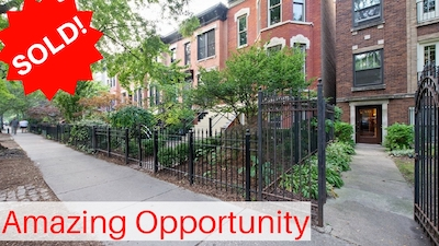 Lincoln Park Multi-Family 3 Flat For Sale
