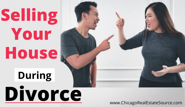 selling house during divorce