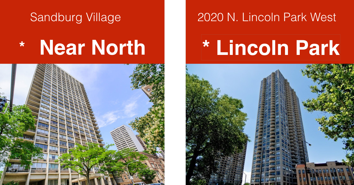 sandburg village, 2020 Lincoln Park