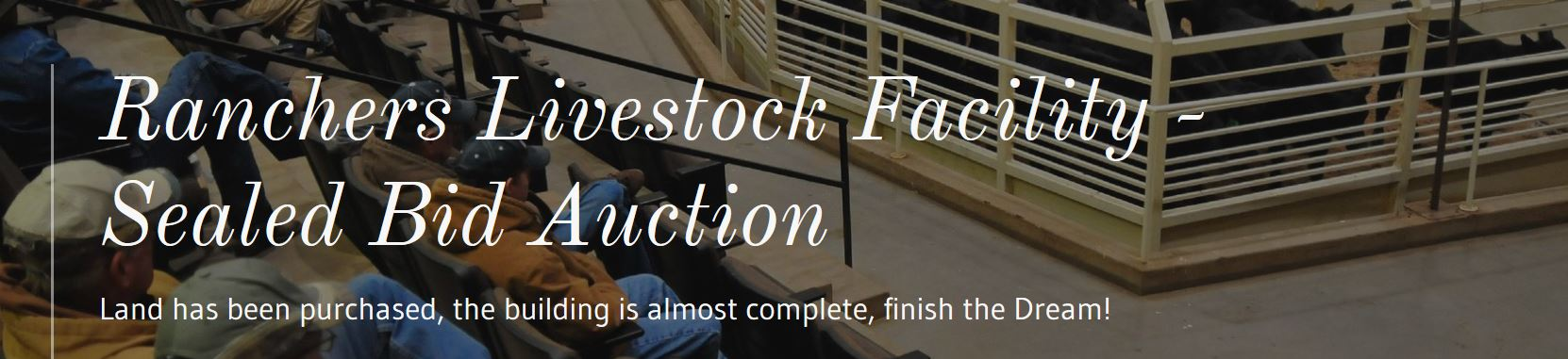 Ranchers Livestock Barn Auction Info