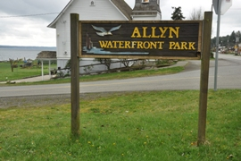 allyn waterfront park