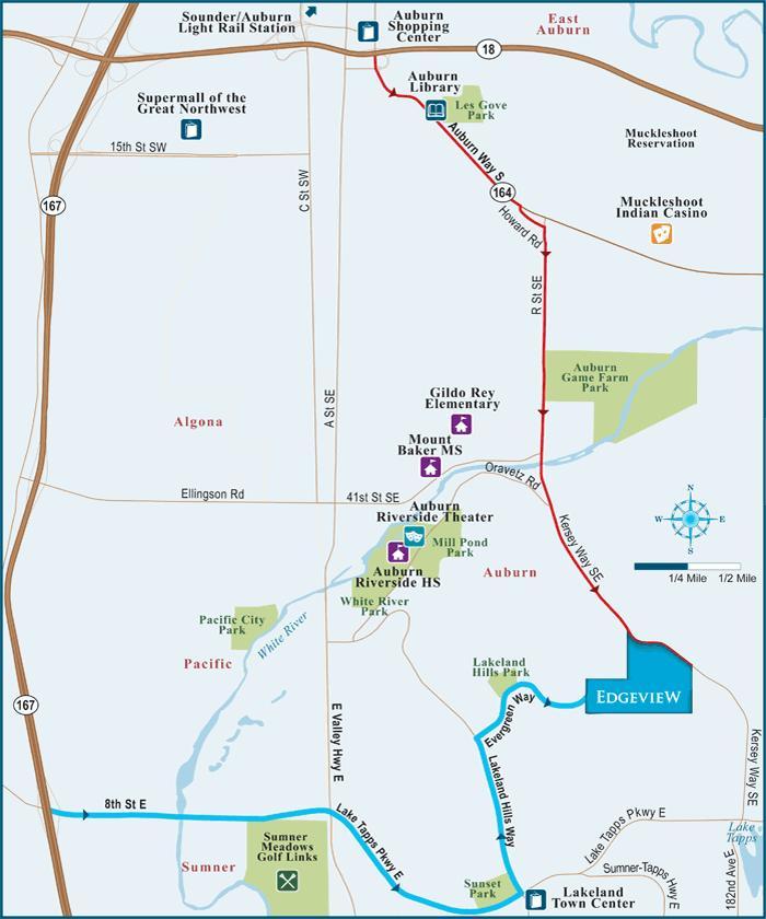 lakeland hills map