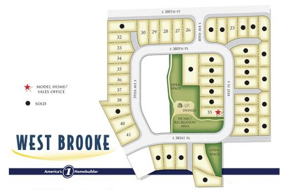 west brooke map