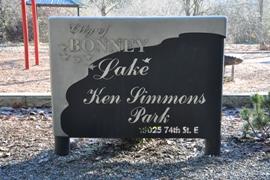 lake ken simmons park