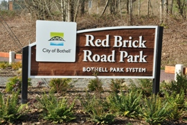 red brick road park