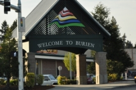 burien sign