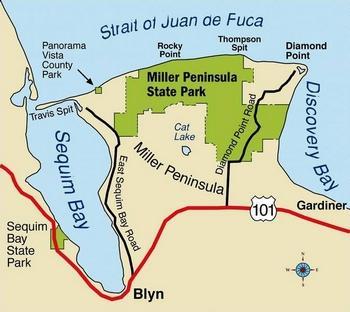 miller peninsula map