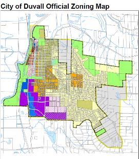 duvall zoning map