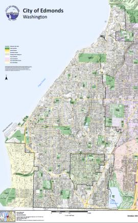 city of edmonds map