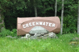 greenwater sign