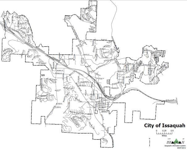 issaquah map