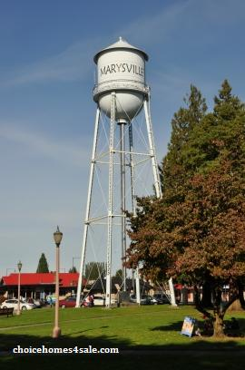 marysville water tower
