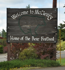 mccleary city sign