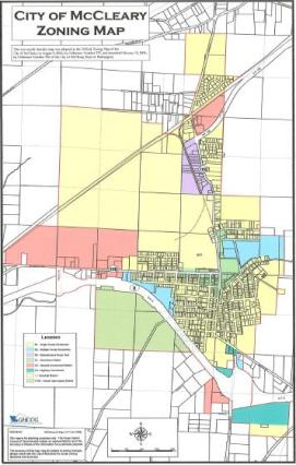mccleary zoning map
