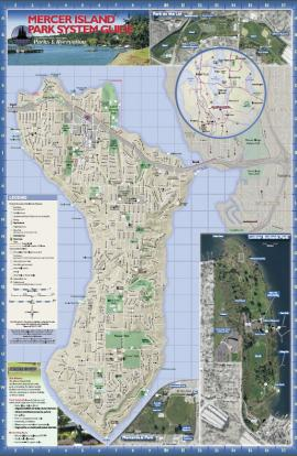 mercer island map