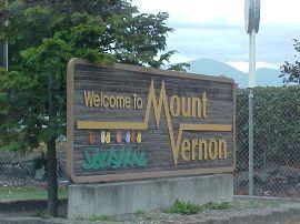 mount vernon sign