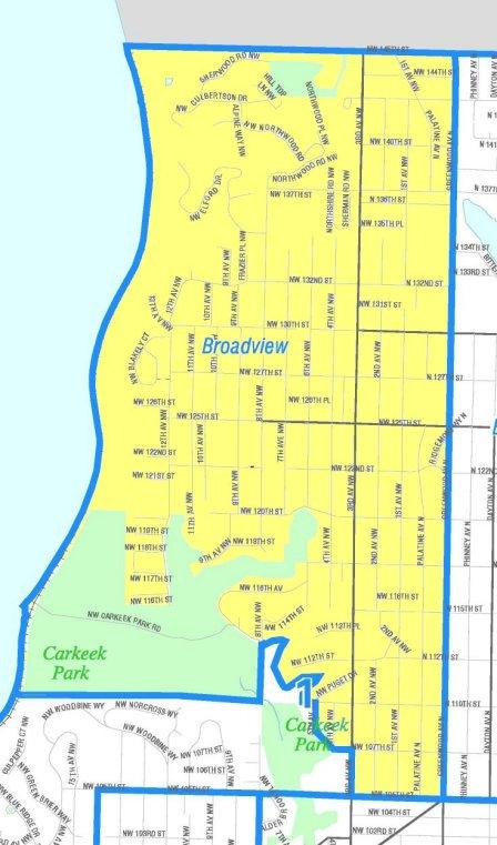 broadview map