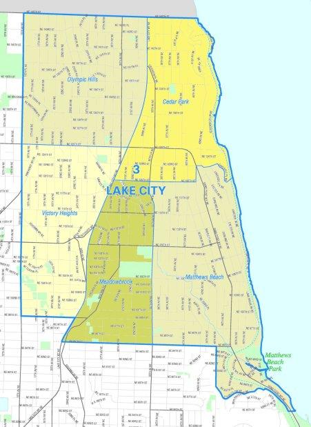 lake city map
