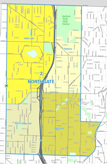 northgate map
