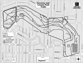 ravenna park map