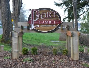 port gamble sign