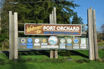 port orchard sign