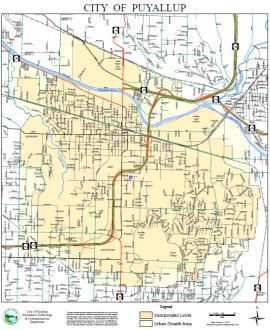 puyallup map