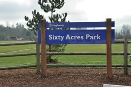 sixty acre park