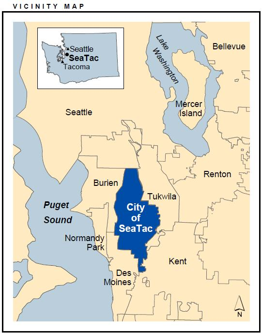 seatac map