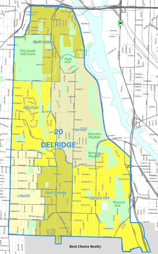 delridge map