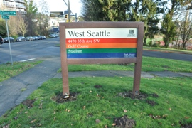 west seattle sign