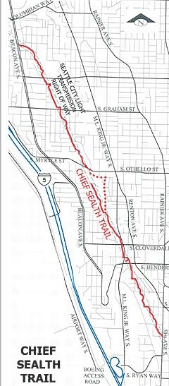 chief sealth trail map