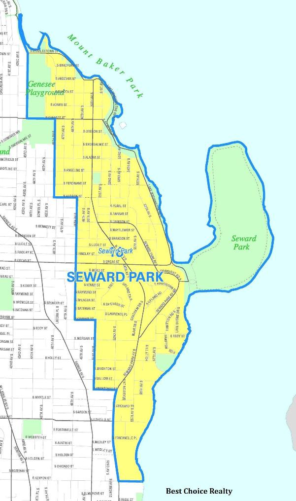 seward park map