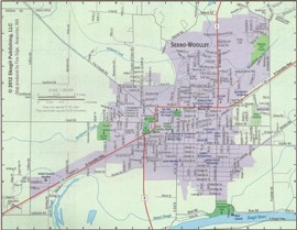 sedro woolley map