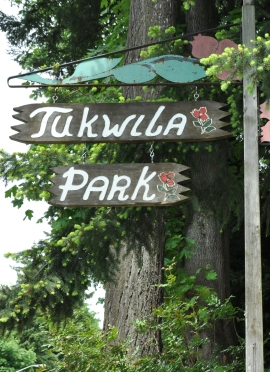 tukwila park sign