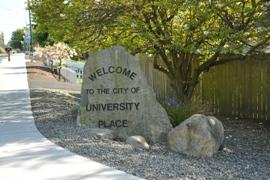 university place sign