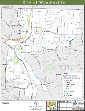 woodinville street map