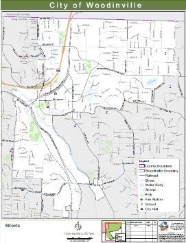 woodinville street map