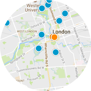 London Real Estate Map Search