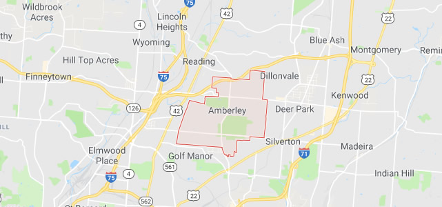 Amberley OH map