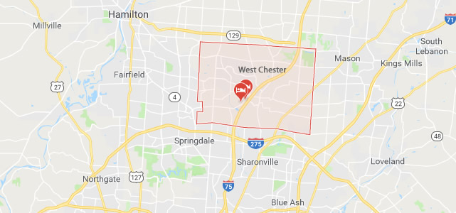 West Chester Map