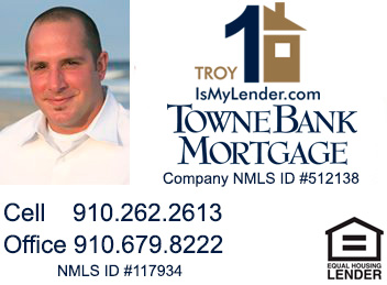 Troy Williamson, Wilmington NC Mortgage Lender
