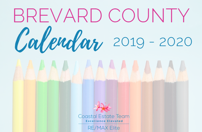 Brevard County School Calendar 2020 Brevard County Schools 2019 2020 Calendar