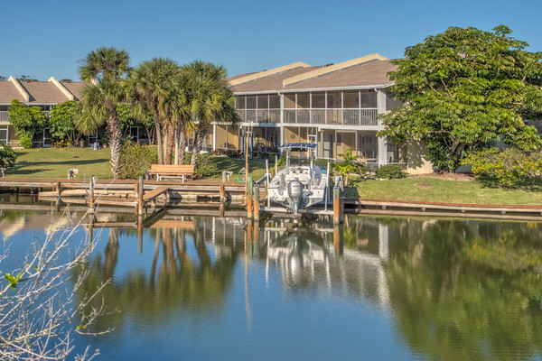 Just Listed! Cocoa Beach direct waterfront condo!